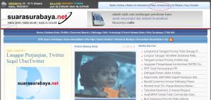 Web SuaraSurabaya.Net